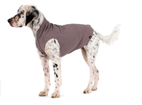 GoldPaw Soft dog fleece charcoal grey