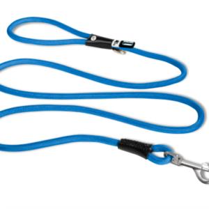 Curli stretch comfort dog leash blue