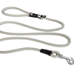 Curli Stretch Comfort leash Grey shock absorber