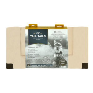 Tall Tails Crate bed cream fleece