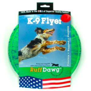 Ruff Dawg K-9 Flyer dog toy
