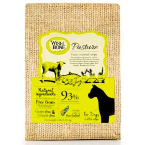 Wishbone dog food New Zealand Lamb Pasture