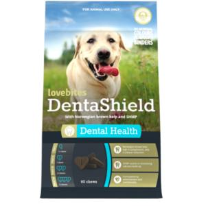 Lovebites DentaShield dog chews