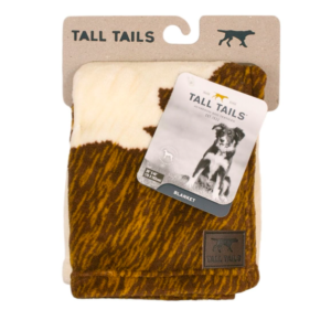 Tall Tails Premium Dog Blanket Cowhide