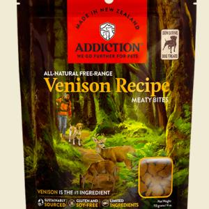 Addiction Meaty Bites dog treats Brushtail 113gm