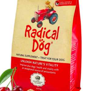 Radical Dog Premium Dog Biscuits 400g